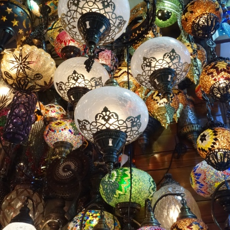 Lanterns in the Grand Bazaar