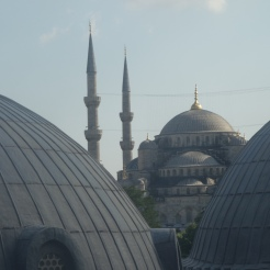 View from Hagia Sophia