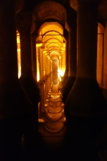 Istanbul's underground Basillica cistern