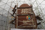 The making of the largest chocolate egg in the world in Bariloche!