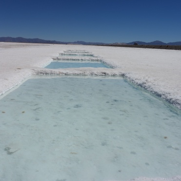 Salinas Grandes in Northern Argentina