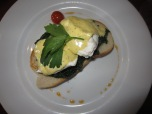 Eggs FLorentine in Lennox Cafe