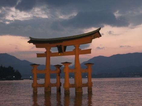 Miyajima- floating temple off the coast of Hiroshima