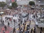 Shibuya Crossing craziness